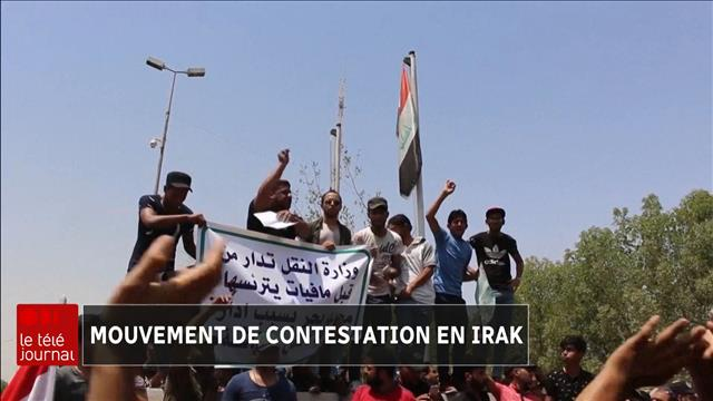 Mouvement de contestation en Irak