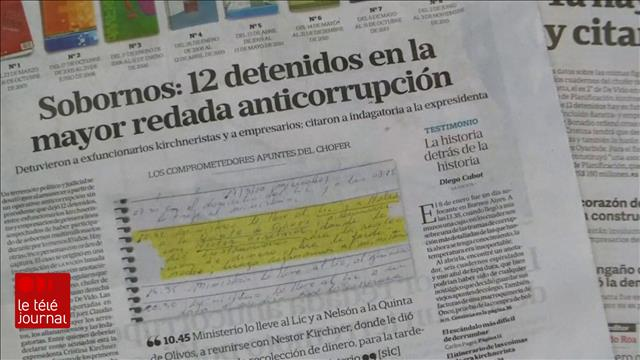 Scandale de corruption en Argentine