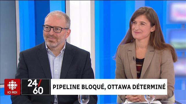 Pipeline bloqué, Ottawa déterminé