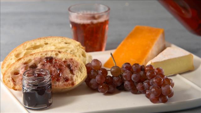 Les raisins en vedette