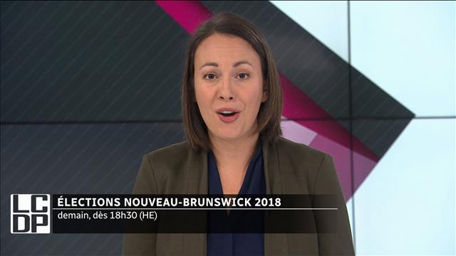 Veille d'élection au Nouveau-Brunswick