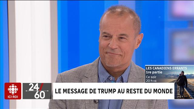 Le message de Trump au reste du monde