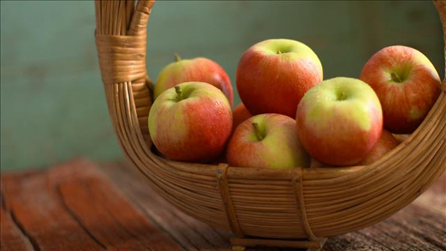 Les pommes en vedette