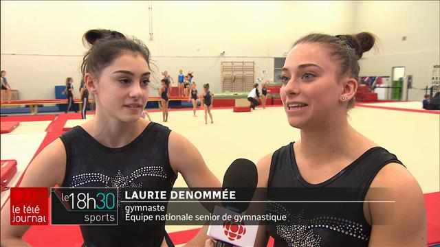 Des gymnastes d'exception