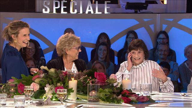 Janette Bertrand et sa fille Isabelle Lajeunesse