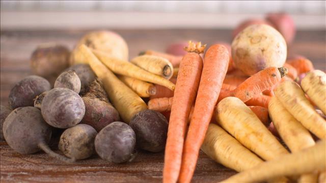 Les légumes en vedette