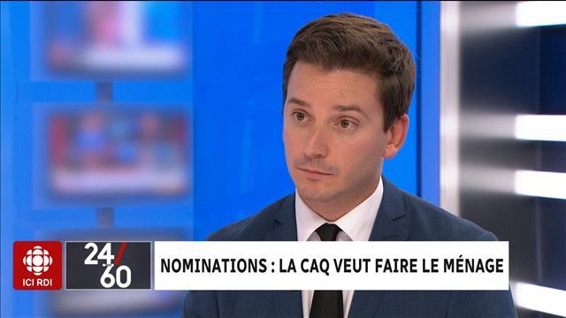 Nominations : la CAQ veut faire le ménage