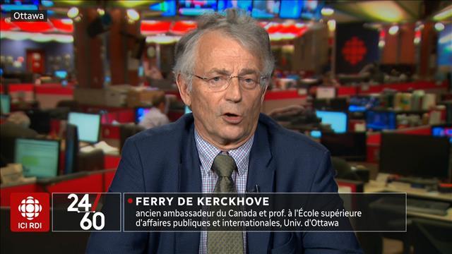 Michaëlle Jean et la diplomatie canadienne