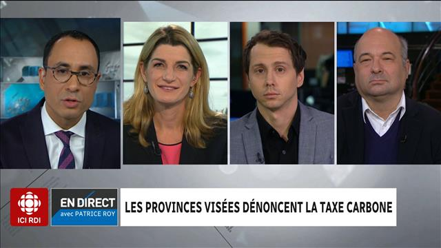 Le panel politique du 23 octobre 2018