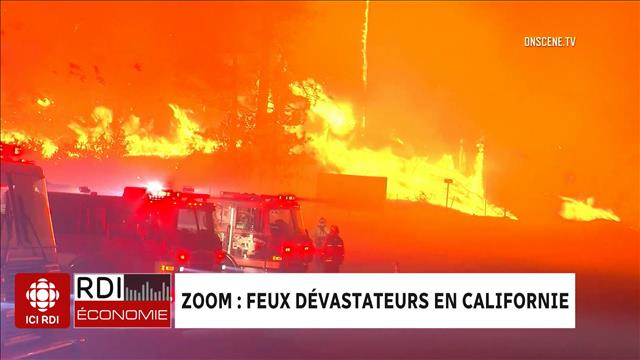 ZOOM : feux dévastateurs en Californie