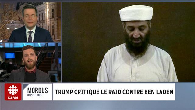 Trump critique le raid contre Ben Laden