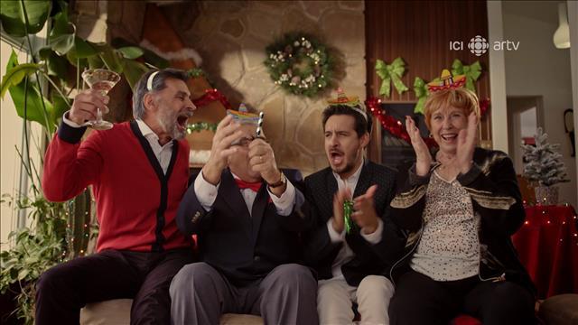 Visionner Le karaoké de Noël