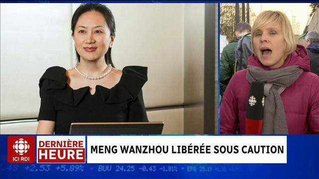 L'affaire Huawei : libre sous conditions strictes
