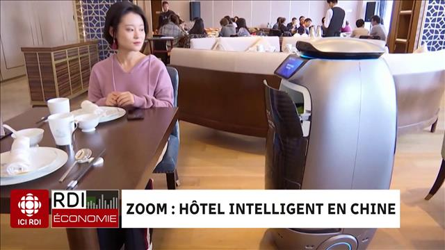 ZOOM : hôtel intelligent en Chine
