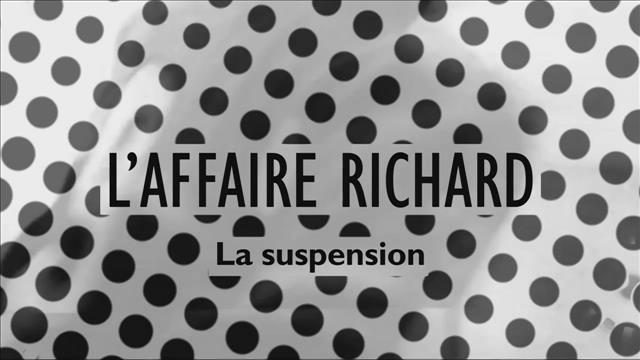 La suspension de Maurice Richard