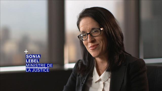 Sonia LeBel et la justice en ligne
