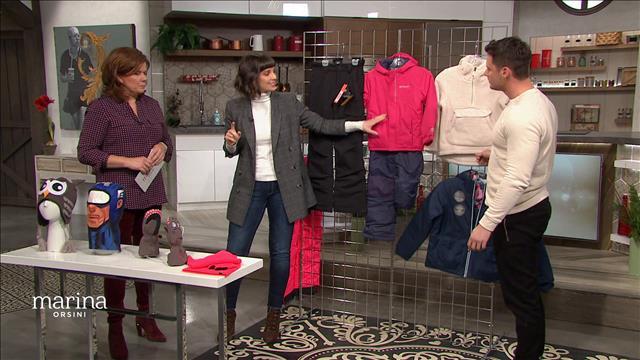 Les habits et bottes d'hiver pour enfants