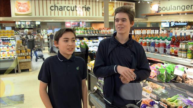 Apprendre les mathématiques à l'épicerie