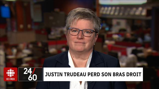 Justin Trudeau perd son bras droit