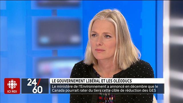 Le gouvernement libéral et les oléoducs