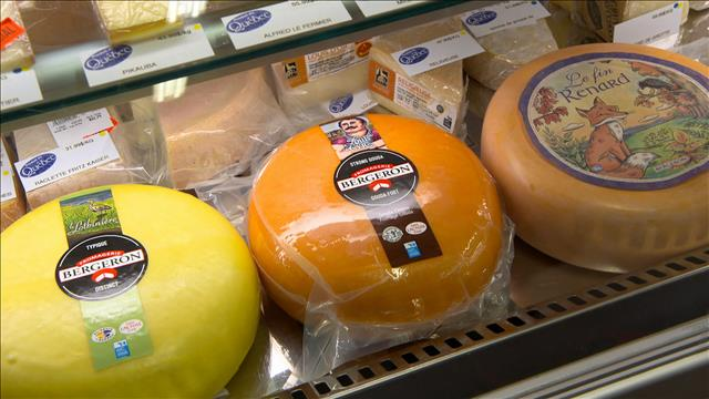 Les fromages Bergeron en vedette