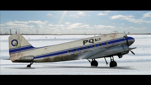 Dans l'avion avec Parti Québec Air