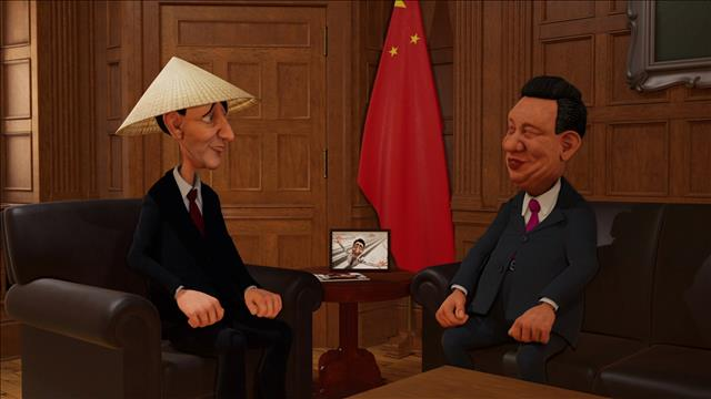 Trudeau fait affaire avec la Chine