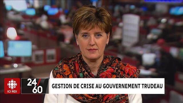 Gestion de crise au gouvernement Trudeau