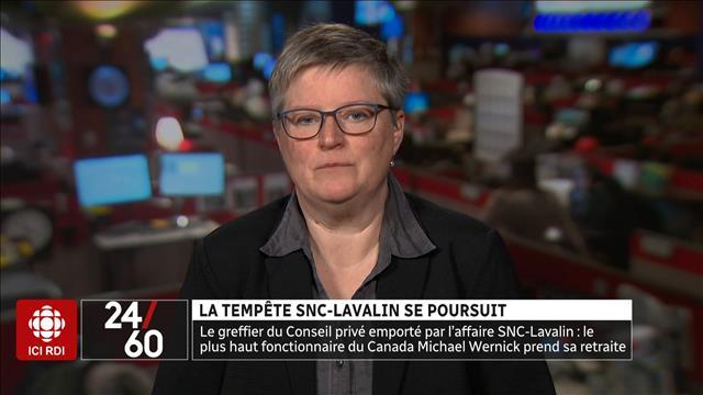 La tempête SNC-Lavalin se poursuit