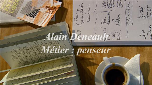 Entrevue avec le philosophe Alain Deneault