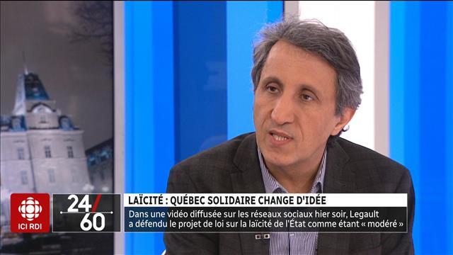 Laïcité : Québec solidaire change d'idée