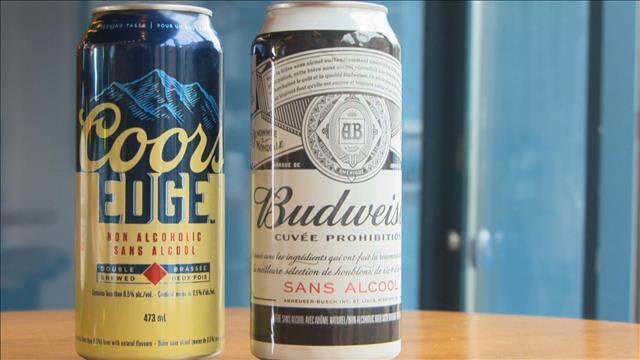 Un test de goût de bières sans alcool