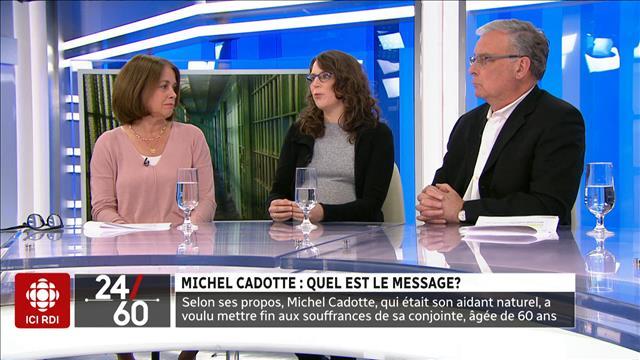 Michel Cadotte : quel est le message ?