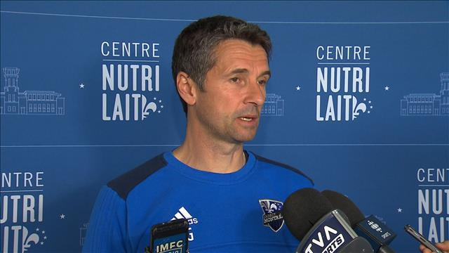 Rémi Garde commente l'annulation du match contre Ottawa