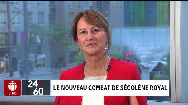 Le nouveau combat de Ségolène Royal