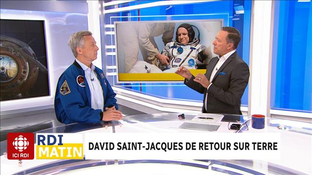 Retour de David Saint-Jacques