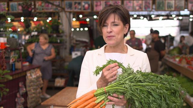 Les carottes fanes en vedette