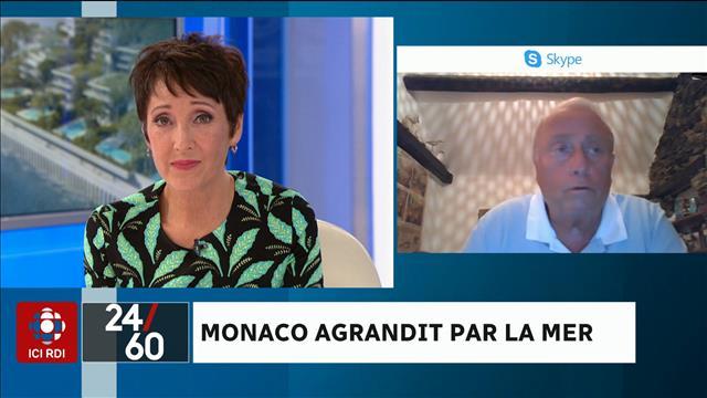 Monaco agrandit par la mer