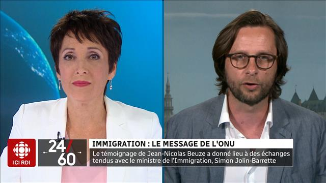 Immigration: le message de l'ONU