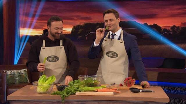 La cuisine des Poilus : salade végétarienne pour lapins