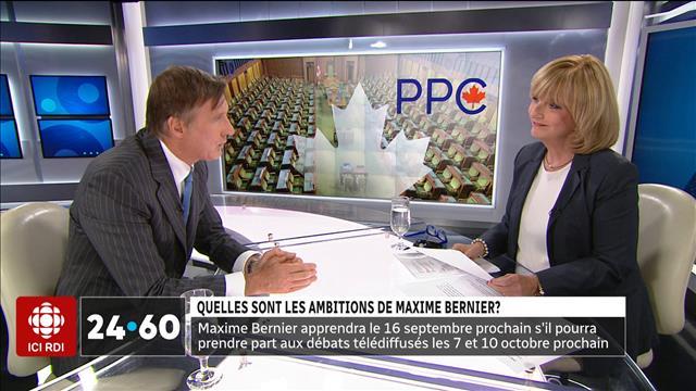 Quelles sont les ambitions de Maxime Bernier ?