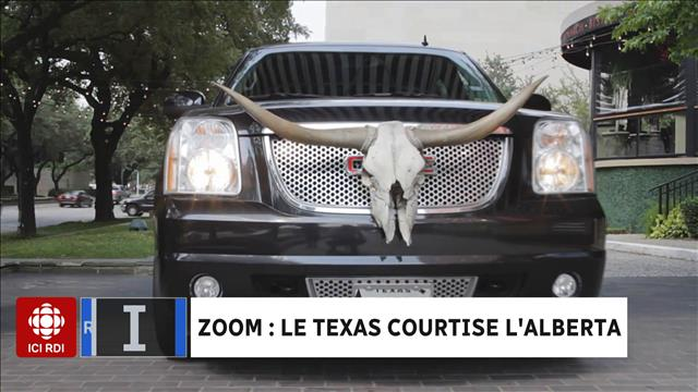 ZOOM : le Texas courtise l'Alberta