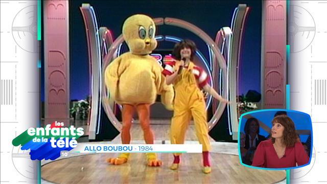 Nathalie Simard à l'émission Allô Boubou