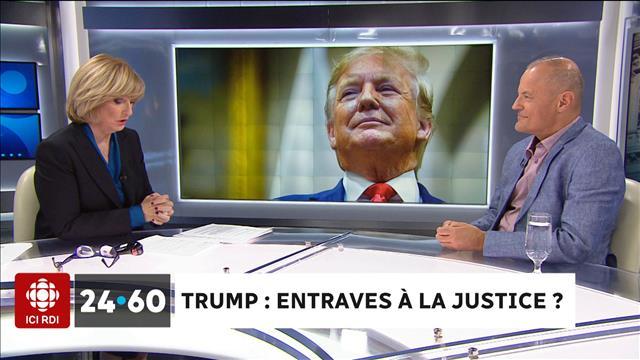 Trump : entraves à la justice ?