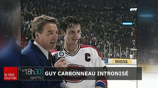 Guy Carbonneau parmi les immortels du hockey