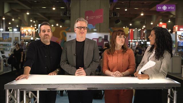 Visionner Le quiz de Rebecca: édition Salon du livre de Montréal