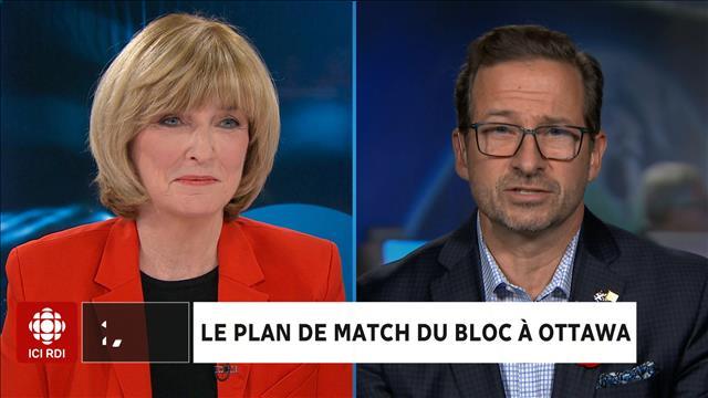 Le plan de match du Bloc à Ottawa