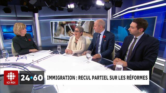 Immigration : Recul partiel sur les réformes