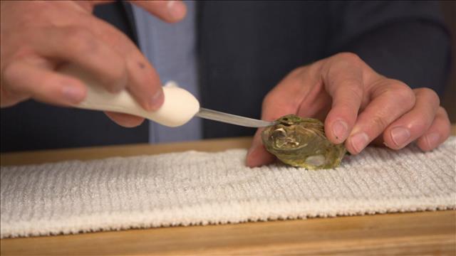 Truc de L'épicerie - Comment ouvrir une huître