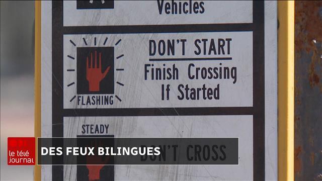 Des Passages Pour Pietons En Anglais Seulement A Saint Jean Videos Ici Radio Canada Ca